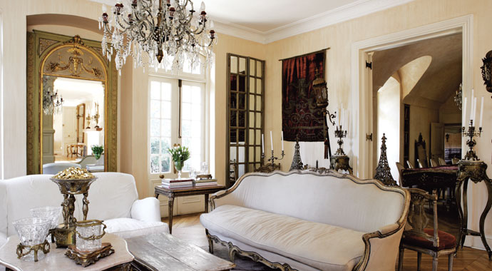 French provencal event car interior design for French home decor