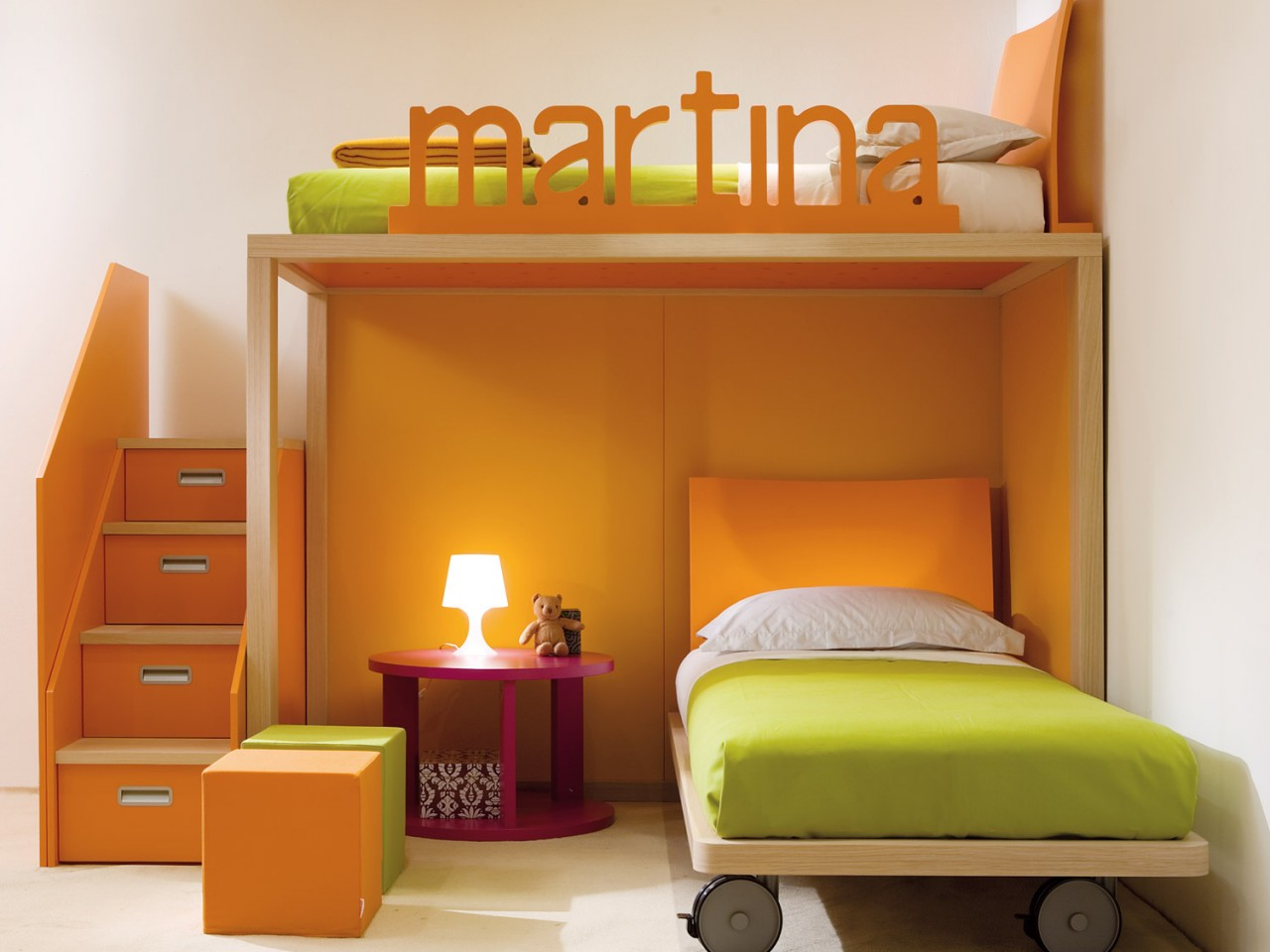 Kids Bedroom Ideas with Bunk Bed