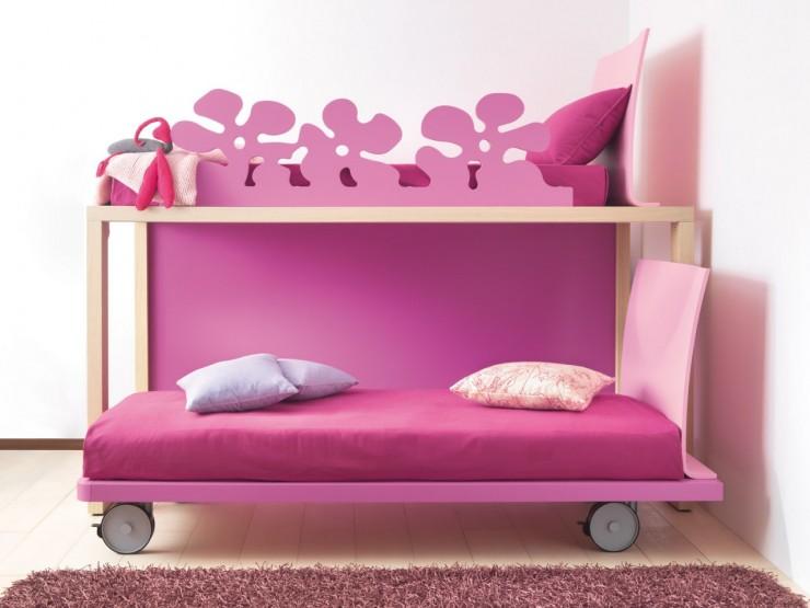 grirls bunk beds letti castello
