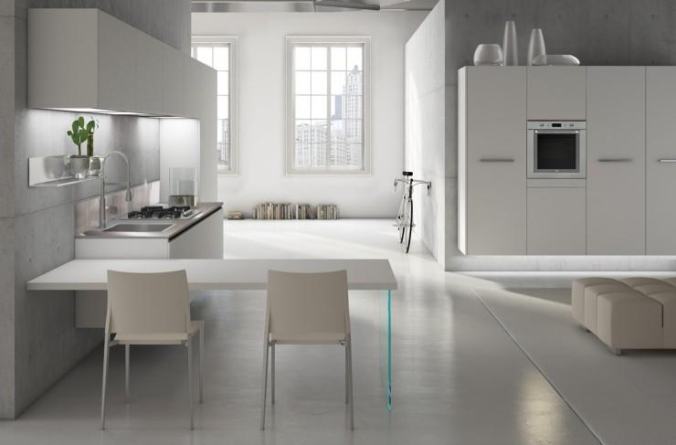 minimal kitchen cabinets scic