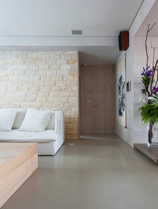 Modern Asian Interior With Natural Materials: Impressive Modern Asian House By Tae Ha Interior Design