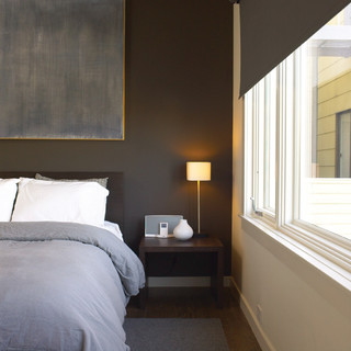 modern dark grey bedroom 3