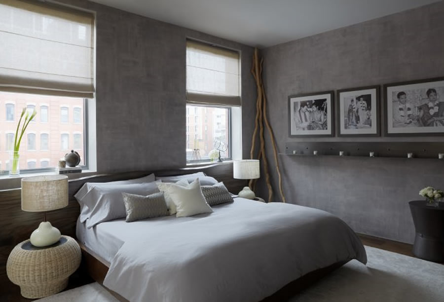 Grey Bedroom Decorating Ideas 900 x 612