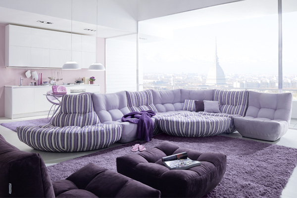 modular sofa by Chateau D'Ax