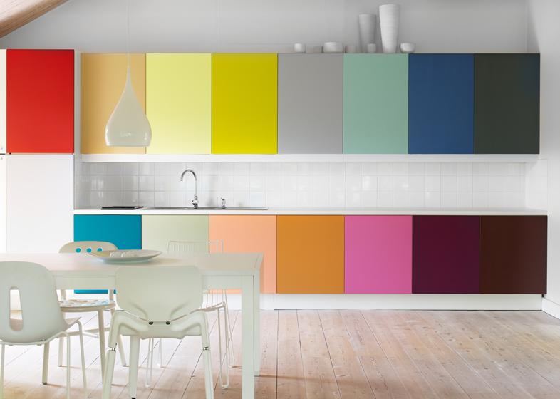 10 inspiring colorful kitchen design ideas - decoholic