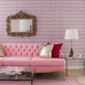 pink living room 2 designs by colin and justin
