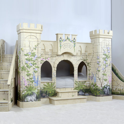 princess castle bunk bed