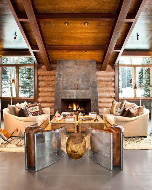 Rustic and Contemporary 2 Interior Design ideas