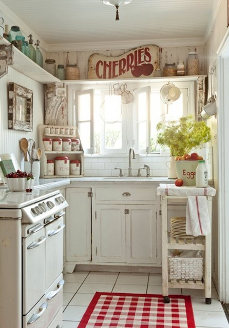 Attractive country kitchen designs ideas that inspire you for Country cottage kitchen ideas