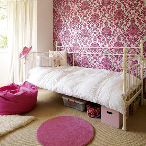 Dream vintage bedroom ideas for teenage girls decoholic for Pink teenage bedroom designs