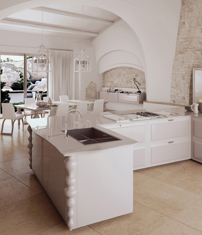 luxury modern kitchen scic