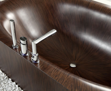 modern wood bathtub laguna 8