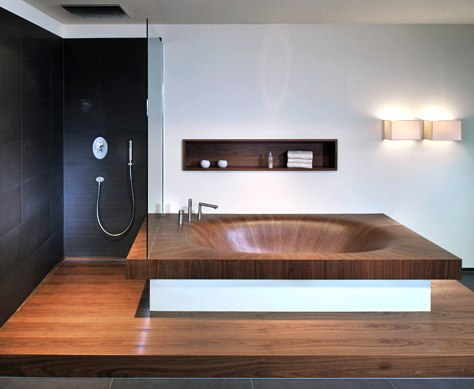 modern wood bathtub laguna 3