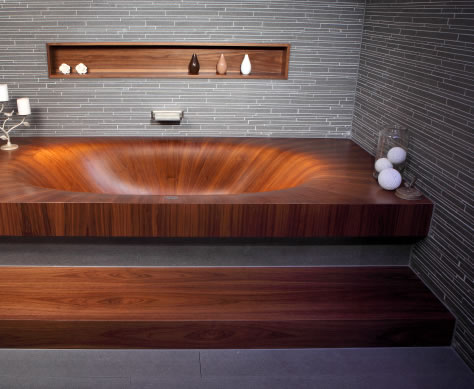 modern wood bathtub laguna 5