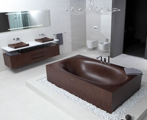 modern wood bathtub laguna 7