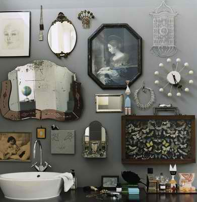 1940's bathroom interior design