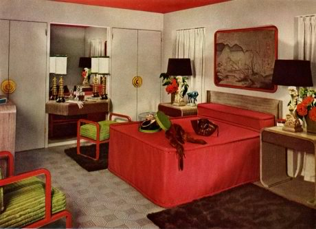 1940's bedroom interior design ideas