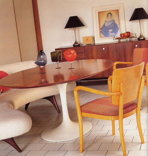 1940's dining room interior design 3 ideas