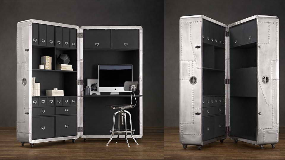 Blackhawk Secretary Trunk home office