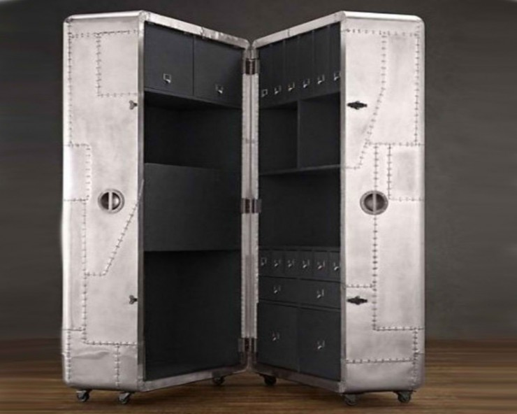 Blackhawk Secretary Trunk home office 3