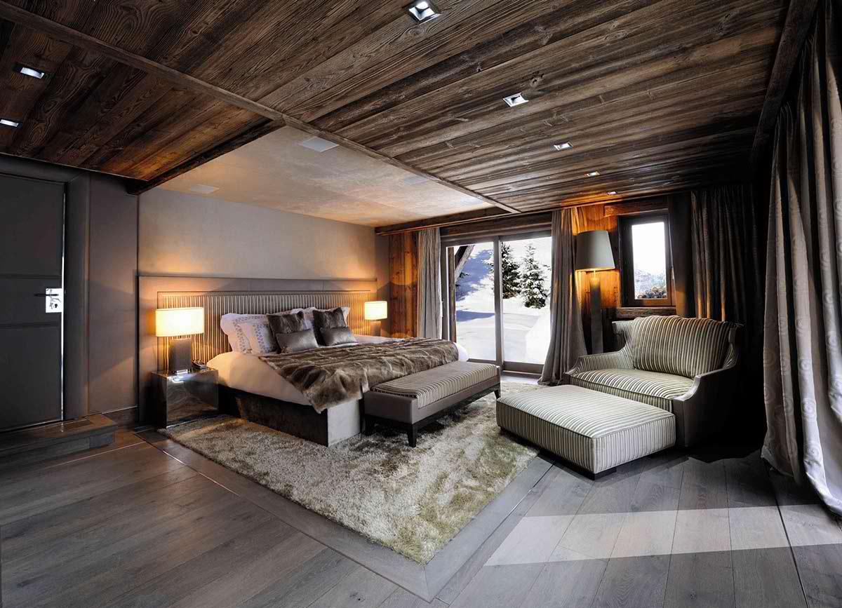 Luxury chalet brickell in meg ve alpes decoholic for Top 10 master bedroom designs