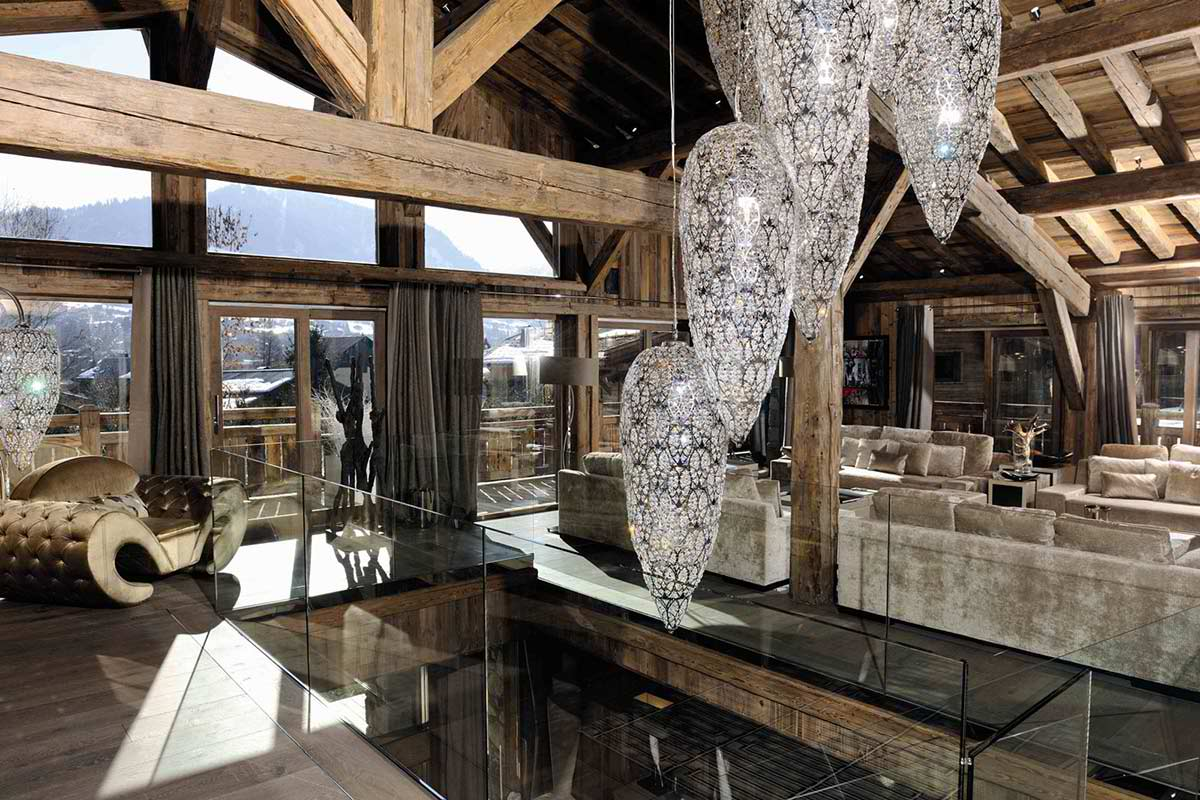 Luxury Chalet Brickell In Megve Alpes Decoholic