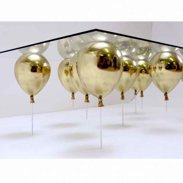 Coffee Table by Gold Balloons by daffy