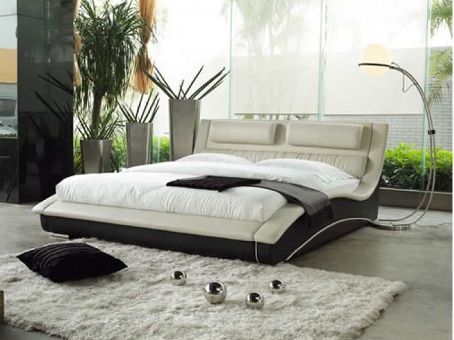 contemporary bed design for bedroom furnishings