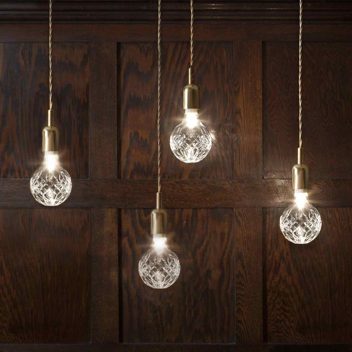 Crystal Bulb Light by A+R