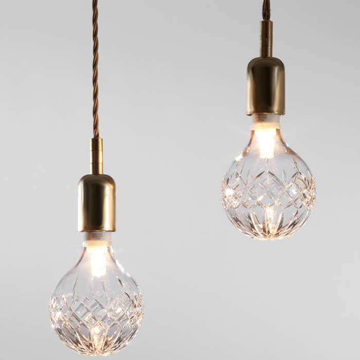 Crystal Bulb Light by A+R 5