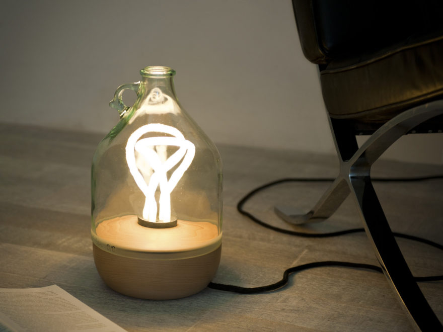Dama Table Lamp by Tom Allen for Lucirmás