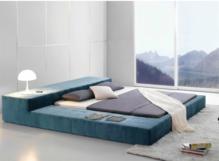20 contemporary bedroom furniture ideas decoholic On the floor bed frames