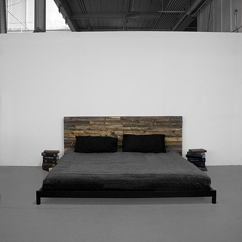 Street Wood Bed By Uhuru