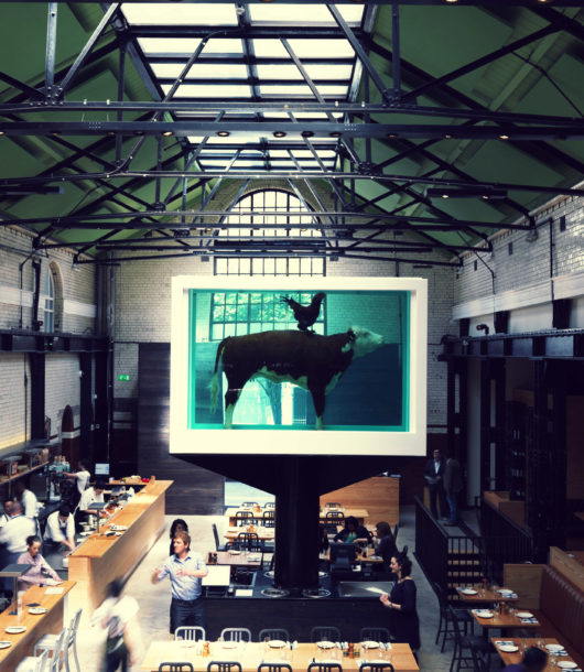 Stunning Sculpture for Tramshed Restaurant by Damien Hirst