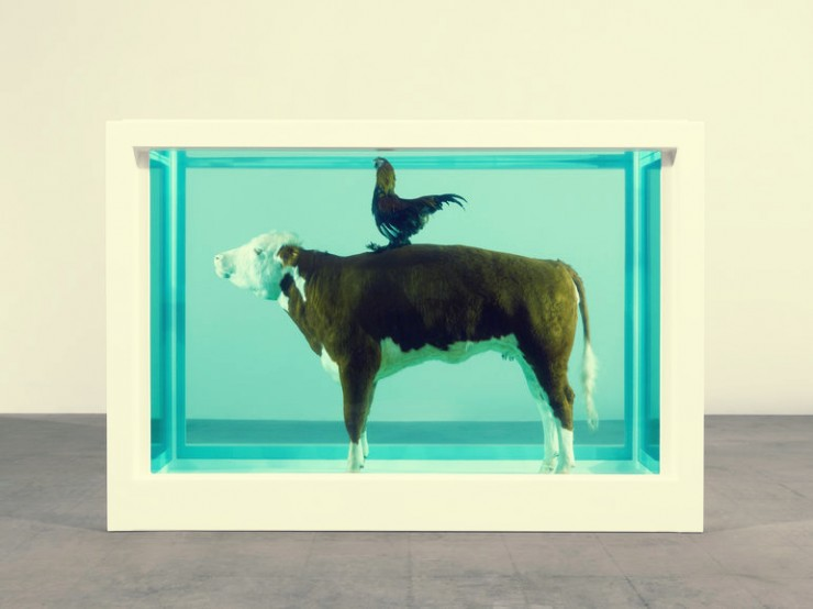 Stunning Sculpture for Tramshed Restaurant by Damien Hirst 2