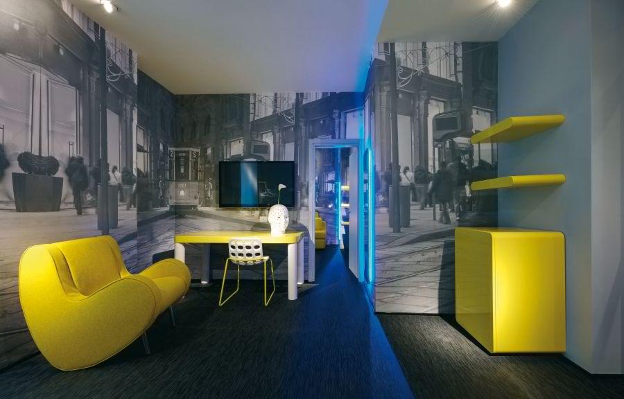 Deco Chambre Urbaine  Urban interior design by alessandro rosso amp simone micheli decoholic