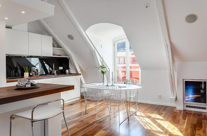 attic house 2 interior design Amazing Attic Loft in Sweden