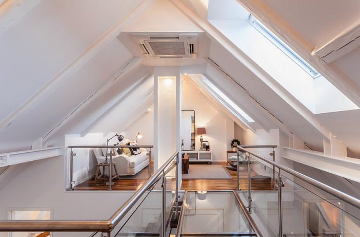 attic house 7 interior design ideas