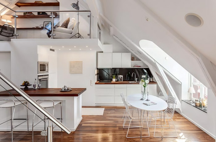 attic house interior design Amazing Attic Loft in Sweden