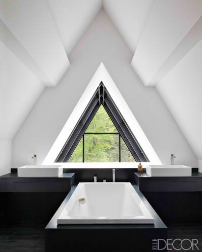 awesome attic bathroom