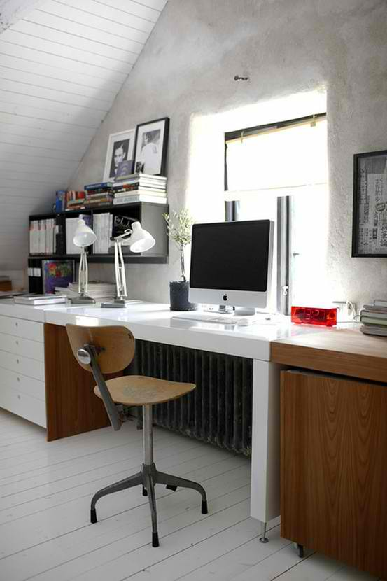 attic working space room