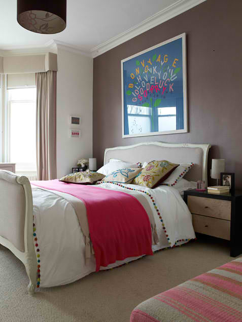 grey bedroom design 4 ideas with modern art