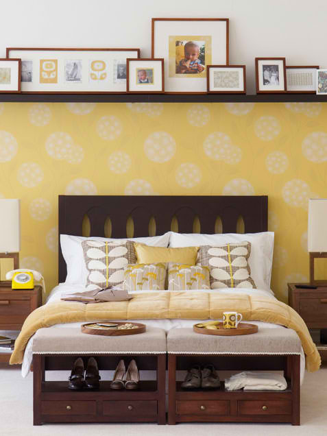 yellow bedroom design 6 ideas