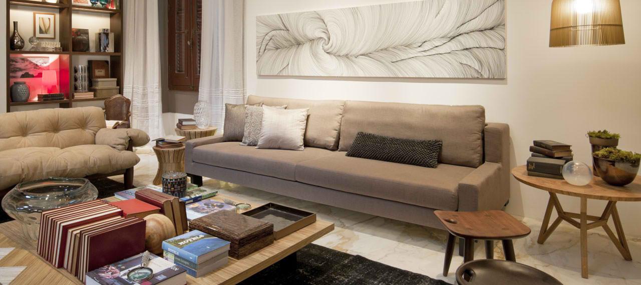 Sala de estar casacor 2012