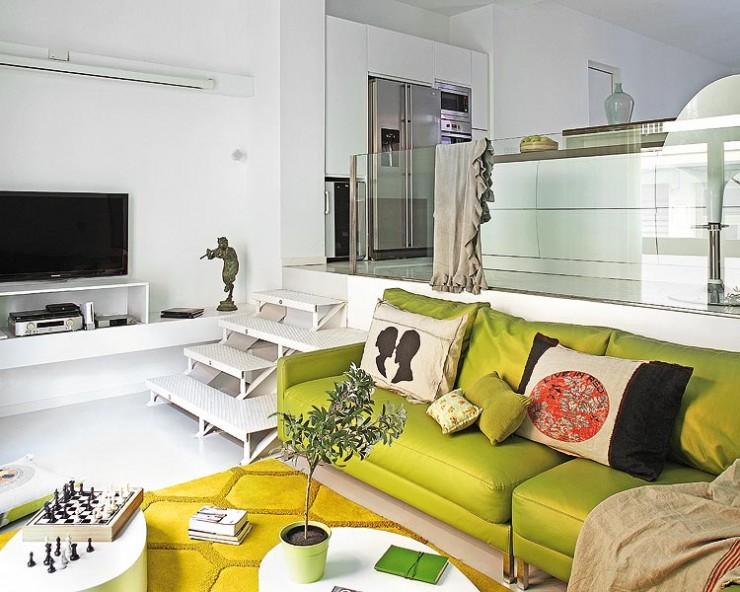 charming rreen living room design ideas