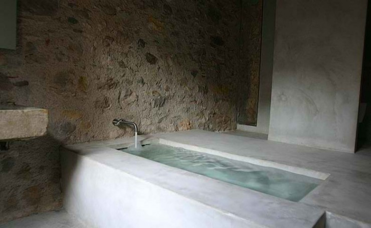 concrete bathroom 13