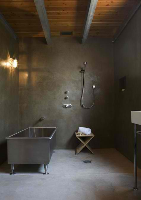 industrial concrete bathroom 14