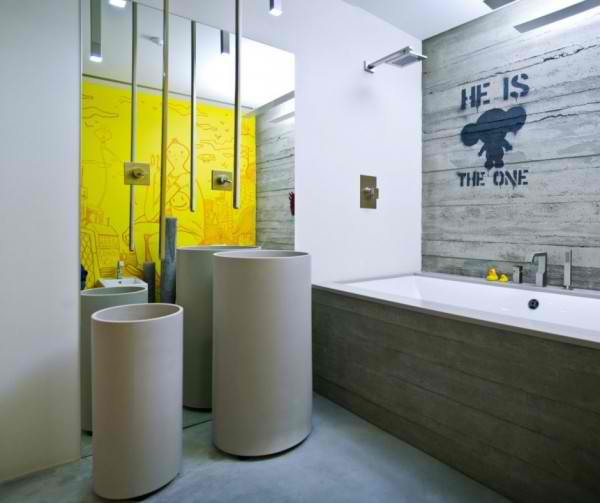 concrete bathroom 16