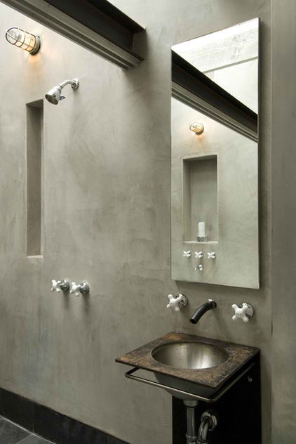 modern concrete bathroom 19