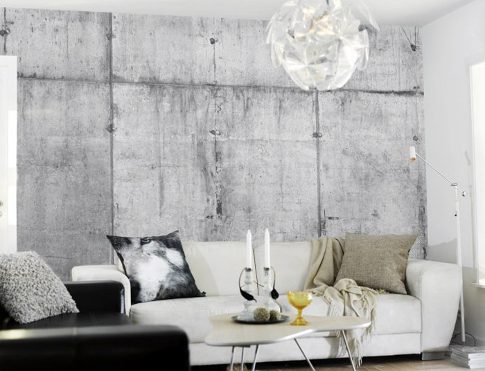 concrete living room design 20  10 Beautiful Living Room Ideas concrete living room 20